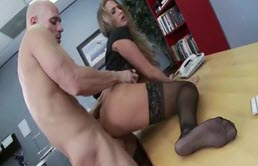 Horny Teacher Fucked On The Desk