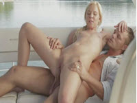 Fucked Hard By Lover In Pussy On The Big