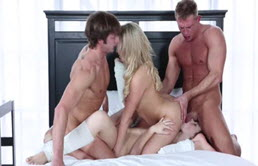 Beautiful Orgy With Two Beauties