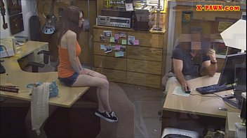 Naughty Amateur Babe In Glasses Screwed To Earn Money