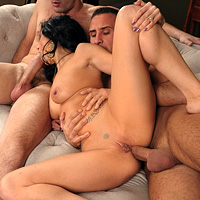 Anal And Vaginal Sex, And Anal With A Brunette