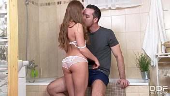 Pussy Russian Girl Who Just Can't Get Enough Of Being Fucked In The Bathroom