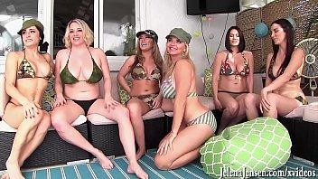 Eine Orgie Zwischen Den Sechs Von Pussy Lesbische