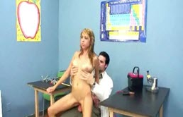 Slut With Big Tits Fucked By The Dentist