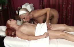 La Masturbación Lesbiana Masaje