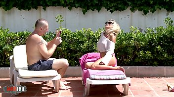 Perfect Ass Fucking Milf Gets A Blonde Bimbo Takes Pictures And Gets Fucked At The Pool
