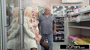 Mature Porn Young Blonde Fucking An Old Man Of 80 Years Old.