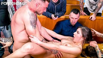 Brunette, World Sex, Group Of Men, Armed