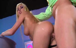 Blonde Babe With Big Tits And Ass Gets Fucked