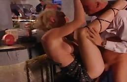 Italian Orgy Ends In Cumshots