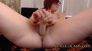 Redhead Fucks Her Ass Hard