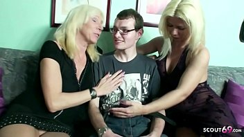Male Virgin At 18 Years Old Fucked By Two Mature Women