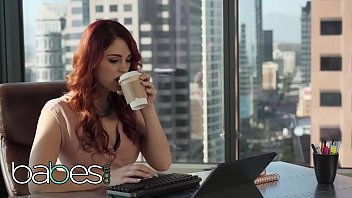 Sex In Office With Two Lesbians Horny