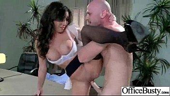 Office-Mädchen (stephani Moretti) Mit Großen Titten Banged Hard Style Video-30