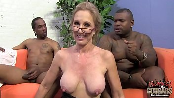 Old Lady With A Good Gangbanged By Two Black Guys