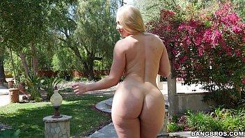 Blonde Nackt, Die Will Gefickt Werden, In Der Natur