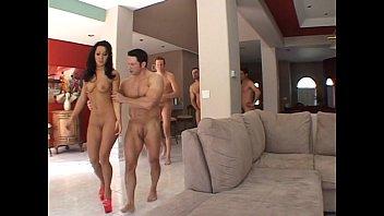 सैंड्रा रोमेन समूह सेक्स के साथ पुरुषों के बहुत सारे और में उसे गधा और उसे बिल्ली में