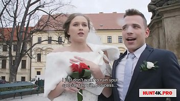 色情的结婚,新娘和新郎