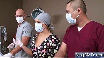 (亚历克西斯*梦露)患者和医生在难性的冒险带剪辑-04