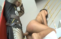 Brunette Fucked By The God Thor