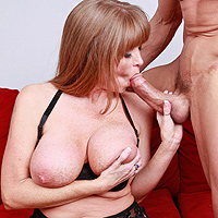 Milfa With Big Tits Giving Her Pussy To A Perverted Features