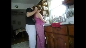 Sex In The Kitchen With My Wife, Who Does All The Cooking And The Husband Fucks Her In The Ass