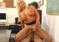 The Student With The Big Cock Shows Blond What The Fuck