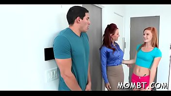 Hunk Is Having Wild Fun With A Older Darling And Young Babe