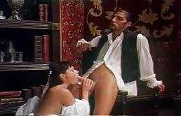 House Maid Pleasures Her Boss