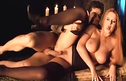 Sex With A Huge Tits Blonde In A Medieval Prison