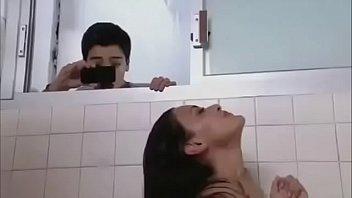 Pussy Spermate Eine Verfilmung Mit Ihrer Handy-Telefon-Sex In Der Dusche