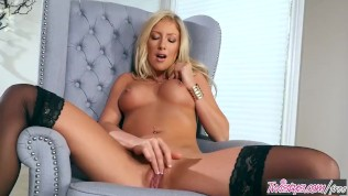 Twistys - Kathrynn St-Croixx Starring At Blondy Cant Sit Down