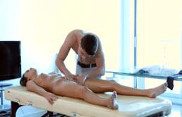 Massage With Hardcore Fucking