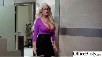 (bridgette B) Sexy Busty Office Girl Bang Hardcore Style Video-05