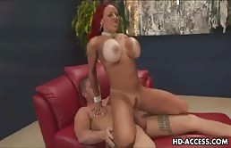 Milfoaica With Big Tits Is Fucked Hard By A Dyke Young