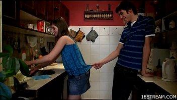Amourösen Und Wilde Küche Sex