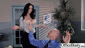 (jayden Jaymes) Sexy Big Round Tits Girl Bang In Office Mov-23