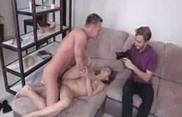 A Lot Of It And Fucked In Front Of Boyfriend For Money
