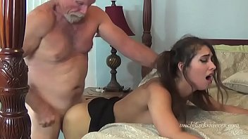 An Old Man With Beard Fucking A Girl Of 18 Years Of Age