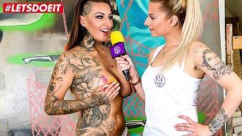 El Pintor Se Folla A Una Chica Caliente Tatuado En Su Cuerpo