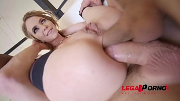 Nympho Horny Anal Sex, Brutal Two Dicks