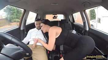 Free Xxx Movies With A Busty Brunette Decides To Have Sex In The Car
