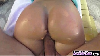(candice Dare) Sexy Girl With Big Oiled Ass Take It Deep In Her Behind Mov-10
