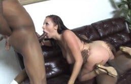 Brunette With Big Tits Fucks With A Stranger