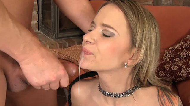 He Pisses On Her, Gives Her A Blowjob, Fucks Her And Cums