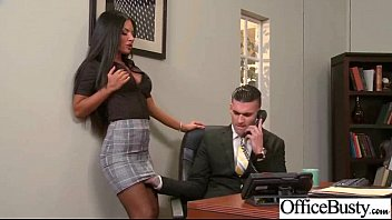 A Nurse Bitch Gets Fucked By Her Boss In The Office