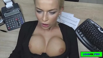 Porn In The Office, A Blonde With Big Bo ... Why I Let You Do What You Want With Her Body.