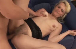 Mature Blonde And Hairy Fucking Pussy