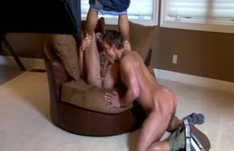 Gay Blonde Does Blowjob And Is Fucked In The Ass