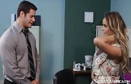 Hot Alexis Adams Gets Fucked At The Office